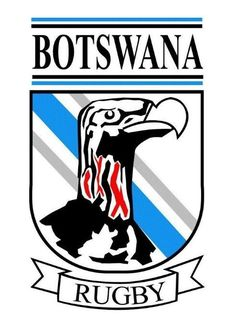 Botswana Rugby Union (BRU - Rugby Africa) Badges, Rugby Union Teams, International Rugby, Africa, Logos, Design, Design Comics, Badge, Logo