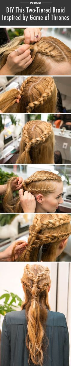Get Game of Thrones Hair With This Inside-Out Braid Tutorial