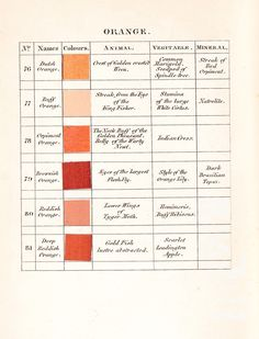 werner's nomenclature | a curious work of 1821, which was produced to help naturalists identify colours, taken by charles darwin on his voyage in HMS beagle.