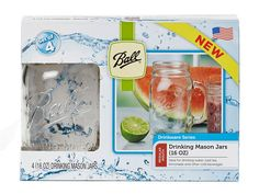 Ball® 16oz drinking jars