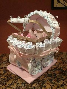 Diaper Carriage Baby Girl