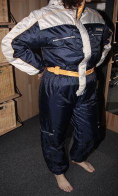 Spandex Catsuit, Winter Suit, Grey Nikes, Snow Suit, Nylon Bag, Blue Pants, Parachute Pants, Black And Grey, Sportswear