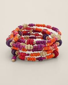 Memory wire bracelet, chicos