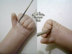 polymer clay babies | Polymer Clay Babies Tutorial Pictures