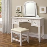 Found it at Wayfair - Naples Vanity Table and Bench Set in White