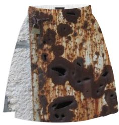 Rust Skirt from Print All Over Me