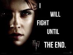 """I will fight until the end. Hermione Granger in """"Harry Potter abd the Deathly Hallows"""" #hermione #harrypotter #hermionegranger #hp #hp7"""