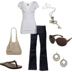 Simple, created by lauragasper on Polyvore