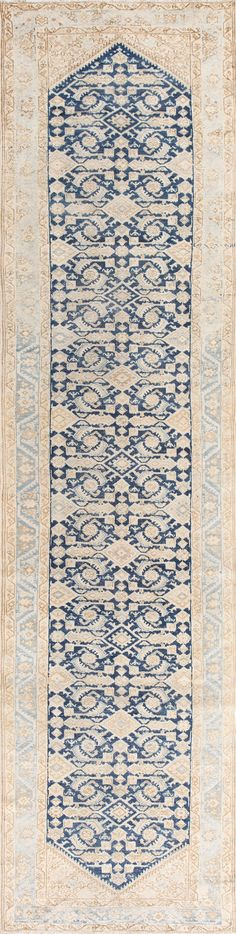 Beautiful Antique Persian Malayer Runner Rug 50407