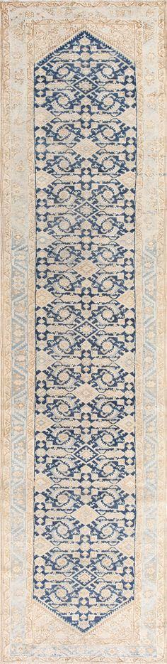 Beautiful Antique Persian Malayer Runner Rug 50407