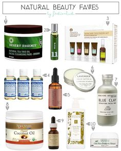 The Lush List // My Top Natural Beauty Picks - Fashionlush