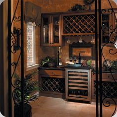 wine rooms | wine%20room 17 Decorative Mini Refrigerator Concepts for the Home