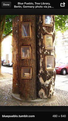 Tree library. Berlin, Germany