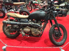Triumph scrambler nice and dirty