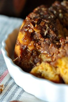 Pumpkin Praline Monkey Bread