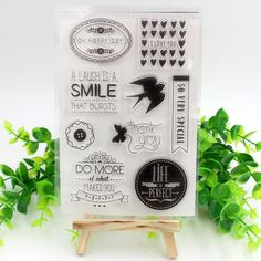 Aliexpress.com : Buy Smile Transparent Clear Silicone Stamps for DIY Scrapbooking Planner/Card Making/Kids Crafts Fun Decoration Supplies from Reliable stamp jeans suppliers on Wedding Boutique
