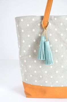 DIY Suede Leather Tassels (Homey Oh My)