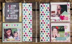 Clique Kits-Simple Stories Blog Share Snap Page layout using the Hey Mom collection from @SIMPLE Comunicación Stories  #simplestories #cliquekits