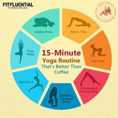 15 Minute Morning Yoga Routine That's Better Than Coffee #FitFluential #yoga #fitness #healthyliving