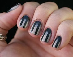 Asylum Nails: I don't normally go in for all that nail jazz, but if I could figure this out I'd do it for one of EA's shows.