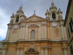 Mdina, the former capital of Malta.