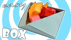 DIY: Easy Paper Origami Box Instructions