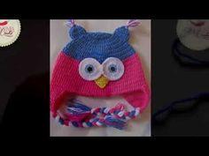 Touca Coruja em crochê da Pimentinha Crochê - YouTube