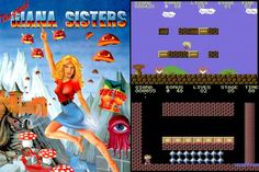 "Commodore 64 Game ""Giana Sisters"" (1982)  Cheating Super Mario Bros."