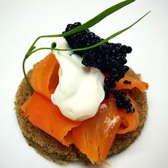 16 Food Trends That Confirm That 2016 is the Year of the Vegan (Shown: Buckwheat Blini, Smoked Carrot Lox, Cultured Almond Milk Crème Fraîche and Kelp Caviar)