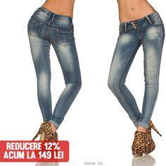 Blugi Dama Lace Moderni  >> Click pe poza pentru a vedea pretul.  #pantaloni #jeansi #BlugiDama  #VinereaNeagra #BlackFriday #Reduceri #fashion #BlackFridayFashion #ReduceriBlackFriday Black Friday, Skinny Jeans, Modern, Pants, Fashion, Skinny Fit Jeans, Moda, Trendy Tree, Trousers