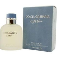 @Overstock - Fragrance was launched by the design house of Dolce & Gabbana Light Blue is a masculine scent that possesses a blend of mandarin, bergamot, grapefruit and more Men's cologne is recommended for daytime wearhttp://www.overstock.com/Health-Beauty/Dolce-Gabbana-Light-Blue-Mens-4.2-oz-EDT-Spray/4313025/product.html?CID=214117 $65.55