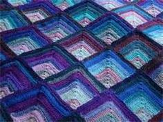 mitered squares crochet - Bing Images
