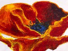#pastel #drawing #art #colors#poppydrawing Pastel Drawing, Drawing Art, Colorful Flowers, Poppies, Sketches, Colors, Drawings, Painting, Painting Art