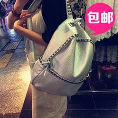 $33.00 (Buy here: https://alitems.com/g/1e8d114494ebda23ff8b16525dc3e8/?i=5&ulp=https%3A%2F%2Fwww.aliexpress.com%2Fitem%2FHot-New-Fashion-Punk-Design-Women-S-Casual-Rivet-Backpack-Teenage-Girl-School-Shoulder-Bag%2F32480006416.html ) Hot !!! New Fashion Punk Design Women'S Casual Rivet Backpack Teenage Girl School Shoulder Bag Pu Leather Travel Bags for just $33.00