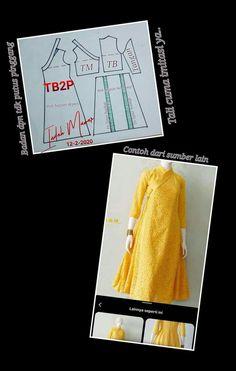 Dress Sewing Patterns, Clothing Patterns, Long Dress Patterns, Gamis Simple, Batik Kebaya, Korean Dress, Hanfu, Pattern Making, Sewing Hacks