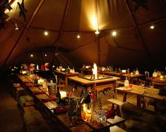 Tipi Christmas Parties - Party Information