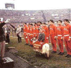 Benfica vs Real Madrid, 1962 European Cup Final, Amesterdam.