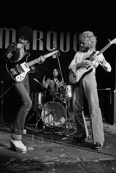 Thin Lizzy with Phil Lynott, Brian Downey and Eric Bell