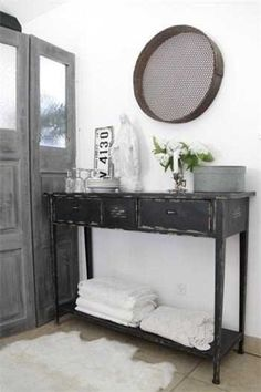 black shabby chic furniture   shabby chic black furniture   Filling Small Spaces