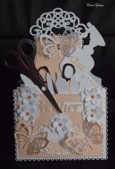 Crafting Goodies Apron Card CraftROBO Cameo on Craftsuprint - Add To Basket!