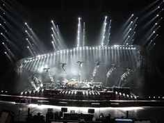 Genesis stage - moving light design:
