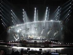 Genesis stage - moving light design: