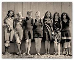 Miss America 1930 - swimsuits