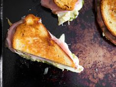 Grilled Mozzarella Sandwiches With Mortadella Pesto and  Mein Blog: Alles rund um die Themen Genuss & Geschmack  Kochen Backen Braten Vorspeisen Hauptgerichte und Desserts # Hashtag