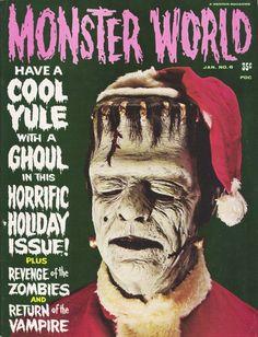 'Monster World' magazine.