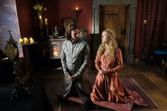 Medieval Dress, The Crown, Great Movies, Sas, Movie Tv, Tv Series, Fur Coat, Fandoms, Celebs