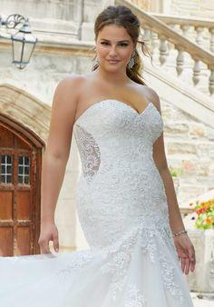 Plus Size Wedding Dresses: Julietta Collection | Morilee Bridal Wedding Dresses, Designer Wedding Dresses, Girls Dresses, Flower Girl Dresses, Curvy Bride, Haute Couture Dresses, Bridesmaid Flowers, Plus Size Wedding, Gorgeous Women