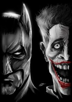 Batman/Joker by Danial Shahzad Khan