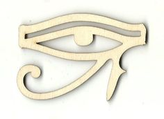Egyptian Eye - Laser Cut Wood Shape WLD55
