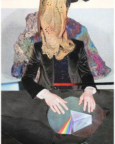 """Saatchi Online Artist Charles Wilkin; Collage, """"A Silver Lining"""" #art"""